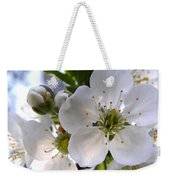 Opening Act -  Cherry Blossoms Weekender Tote Bag