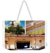 Opera House Claremont Nh Weekender Tote Bag