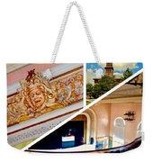 Opera House Diagonal Collage Weekender Tote Bag