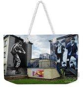 Operation Motorman Mural In Derry Weekender Tote Bag