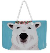 Ophelia The Polar Bear  Weekender Tote Bag