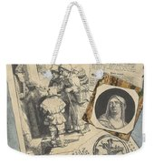 Optical Illusion With Prints And Pamphlets, L. Groskopf, C. 1746 Weekender Tote Bag