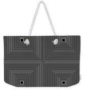Optical Illutions Weekender Tote Bag