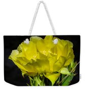 Opuntia Robusta Flower Weekender Tote Bag