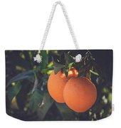 Orange #1 Weekender Tote Bag