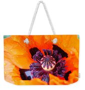 Orange After The Rain Weekender Tote Bag
