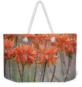 Orange Aloe  Weekender Tote Bag