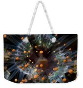 Orange And Black Anemone, Komodo Weekender Tote Bag