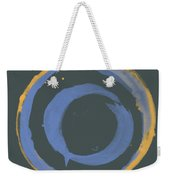 Orange And Blue1 Weekender Tote Bag