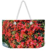 Orange And Colral-pink Flowers 2 Weekender Tote Bag