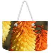 Orange And Gold Flower  Weekender Tote Bag