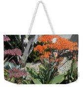 Orange And Pink Exotic Bell Flowers Weekender Tote Bag