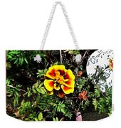 Orange And Yellow Flower Weekender Tote Bag