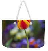 Orange And Yellow Tulip Weekender Tote Bag