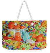 Orange Appeal Weekender Tote Bag