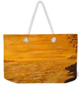 Orange Beach Weekender Tote Bag