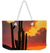 Orange Beautiful Sunset  Weekender Tote Bag
