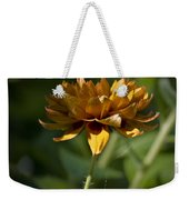 Orange Blanket Flower Weekender Tote Bag