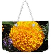 Orange Bloom Weekender Tote Bag