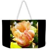Orange Cactus Blossom Weekender Tote Bag