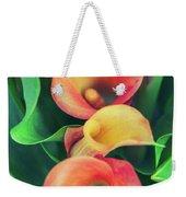 Orange Calla Lily Weekender Tote Bag