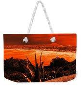 Orange Coast Weekender Tote Bag