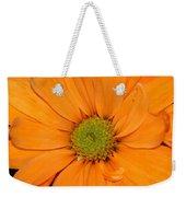 Orange Crush Daisy Weekender Tote Bag