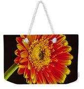 Orange Dahlia Weekender Tote Bag