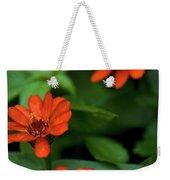 Orange Daisey's Weekender Tote Bag