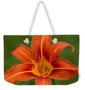 Orange Day Lily No.2 Weekender Tote Bag