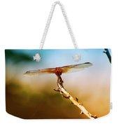 Orange Dragonfly Wings I Weekender Tote Bag