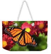 Orange Drift Monarch Butterfly Weekender Tote Bag