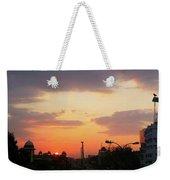 Orange Evening Sky Weekender Tote Bag