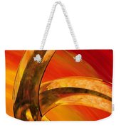 Orange Expressions Weekender Tote Bag by Sharon Cummings