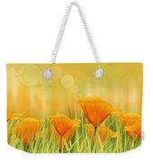 Orange Field Weekender Tote Bag