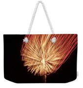 Orange Firework Weekender Tote Bag