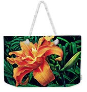 Orange Frenzy Weekender Tote Bag