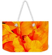 Orange Frills Weekender Tote Bag