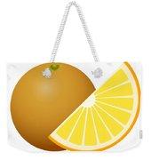 Orange Fruit Weekender Tote Bag