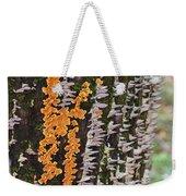 Orange Fungus Weekender Tote Bag