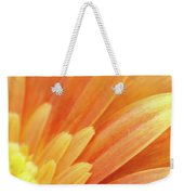Orange Gerbera Petals Weekender Tote Bag