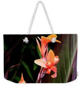 Orange Gladiolus Weekender Tote Bag