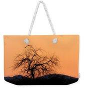 Orange Glow Sunset In The Desert Weekender Tote Bag