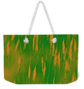 Orange Grass Spikes Weekender Tote Bag