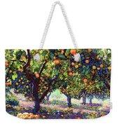 Orange Grove Of Citrus Fruit Trees Weekender Tote Bag
