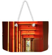 Orange Hallway Weekender Tote Bag