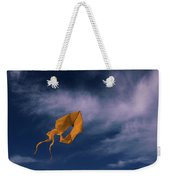 Orange Kite Weekender Tote Bag