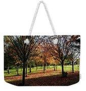 Orange Leaves Weekender Tote Bag