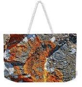 Orange Lichen Weekender Tote Bag