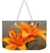 Orange Lilies 2 Weekender Tote Bag